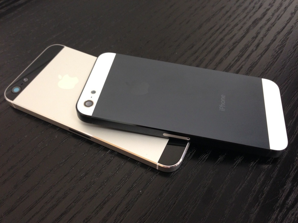 Iphone 5 black meets white