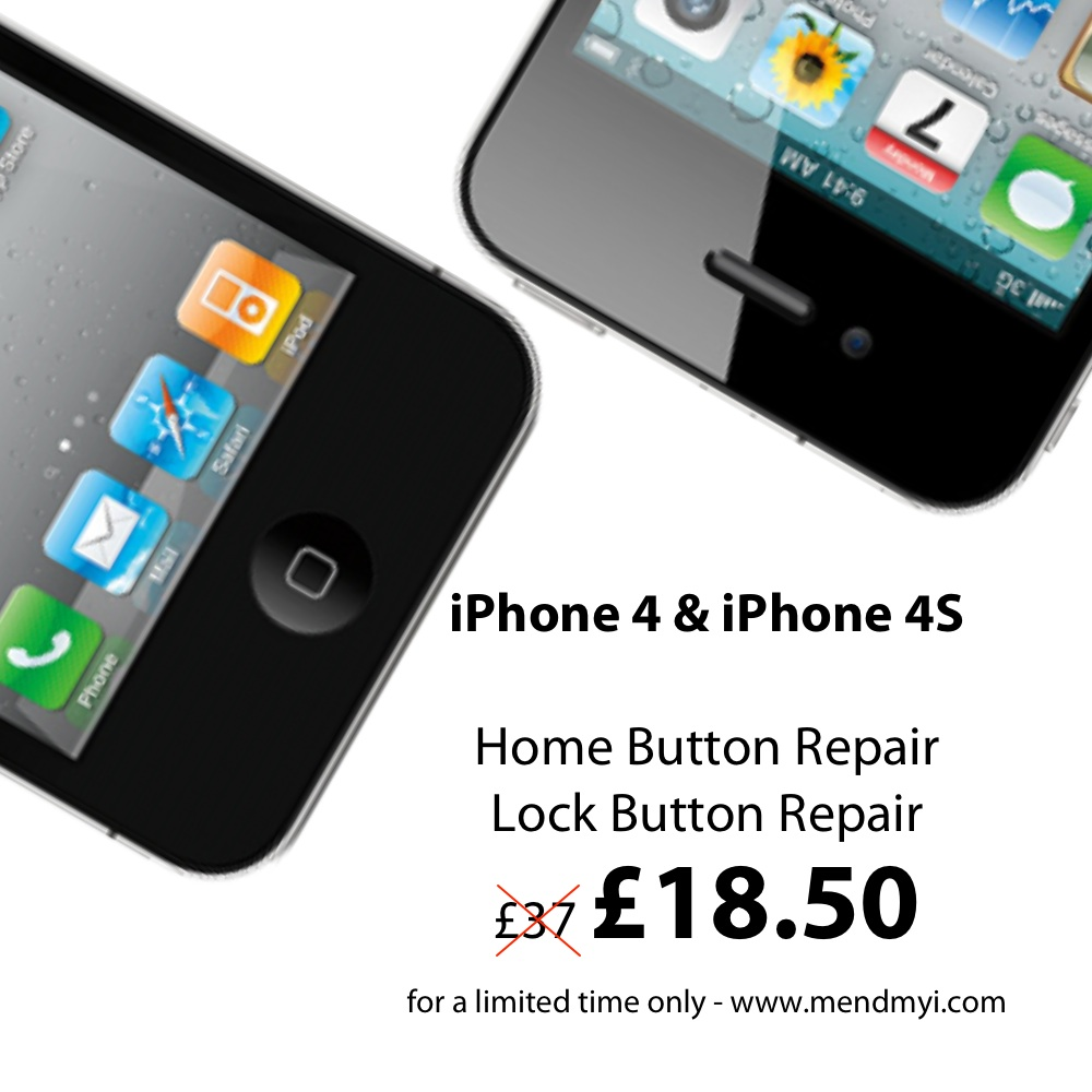 Home Button and Lock Button Repair Wordpress